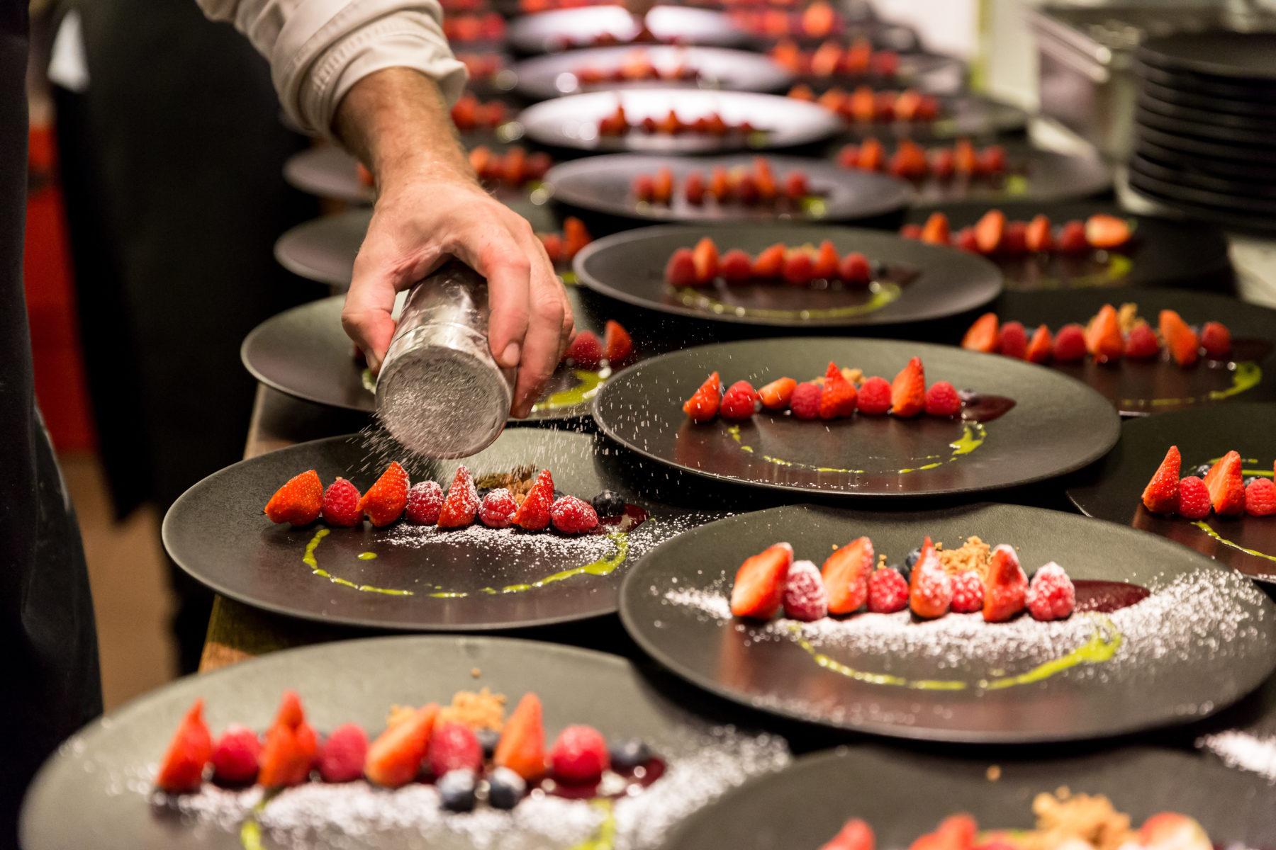 Restaurant de l'Hôtel de Ville à Fribourg – «a table avec tosca»